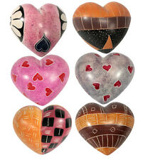 NEW! Handcarved Soapstone Hearts from Kenya  Fair Trade