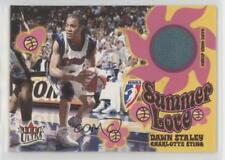 2002-03 Fleer Ultra WNBA Summer of Love Memorabilia #DAST Dawn Staley Card
