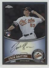 2011 Topps Chrome Rookie Autographs Autographed #216 Zach Britton Auto Card