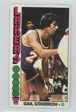 1976-77 Topps #125 Gail Goodrich Los Angeles Lakers Basketball Card
