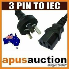 AU 3 Pin to IEC Plug Australian 250V 10A Power Kettle Lead Cord Cable