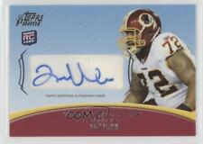 2010 Topps Prime Autographed Rookie #PAR-TW Trent Williams Auto Football Card