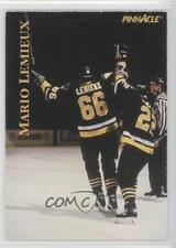 1997 Pinnacle Giant Eagle Mario's Moments #09 Mario Lemieux Pittsburgh Penguins
