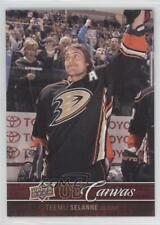 2012-13 Upper Deck UD Canvas #C4 Teemu Selanne Anaheim Ducks (Mighty of Anaheim)