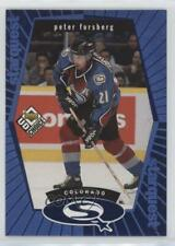1998 Upper Deck UD Choice Starquest Blue #SQ20 Peter Forsberg Colorado Avalanche