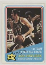 1972-73 Topps #161 John Havlicek Boston Celtics Basketball Card