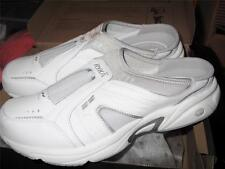 RYKA ~ NEW $75 WHITE LEATHER ATHLETIC SHOES SNEAKERS SZ 7 M NEW IN BOX