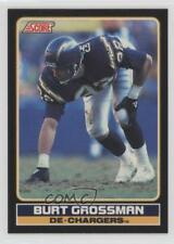 1990 Score Mail In Young Superstars #25 Burt Grossman San Diego Chargers Card