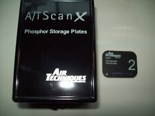 NEW 4-PACK AIR TECHNIQUES SCAN-X SCANX 73445-2 #2 PHOSPHOR STORAGE PLATES
