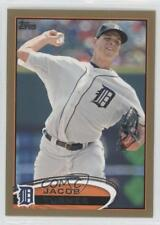 2012 Topps Gold #358 Jacob Turner Detroit Tigers Baseball Card