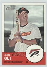 2012 Topps Heritage Minor League Edition 11.1 Mike Olt Texas Rangers Rookie Card