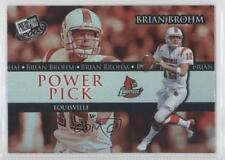 2008 Press Pass #103 Brian Brohm Louisville Cardinals Rookie Football Card
