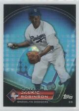 2011 Topps Prize Prime 9 Refractor #PNR3 Jackie Robinson Brooklyn Dodgers Card