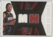 2008-09 SP Rookie Threads #RT-MB Michael Beasley Miami Heat Basketball Card