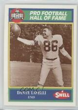 1990 Swell Pro Football Hall of Fame #82 Dante Lavelli Cleveland Browns Card