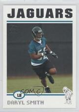 2004 Topps #377 Daryl Smith Jacksonville Jaguars RC Rookie Football Card