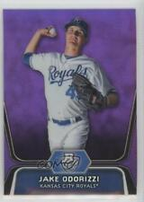 2012 Bowman Platinum Prospects Retail Purple Refractor #BPP29 Jake Odorizzi Card