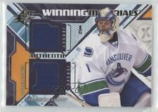 2013-14 SPx Winning Materials WM-RL Roberto Luongo Vancouver Canucks Hockey Card
