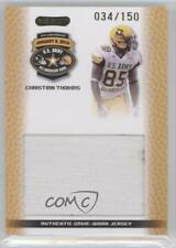 2010 Razor US Army All-American Bowl Jersey Swatch #JS-CW3 Connor Wood U.S. Card