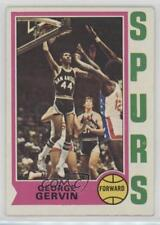 1974-75 Topps #196 George Gervin San Antonio Spurs RC Rookie Basketball Card