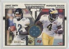 2002 Private Stock Titanium 134 Jimmy Smith Marquise Walker Tampa Bay Buccaneers