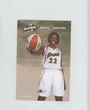 2008-09 Seattle Storm Promo Postcards #N/A Sheryl Swoopes (WNBA) Basketball Card