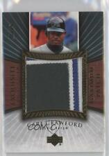 2006 Upper Deck Exquisite Collection Maximum Patch #MP-CA Carl Crawford Card