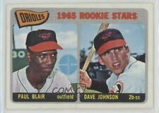 1965 Topps #473 Orioles Rookie Stars (Paul Blair Dave Johnson) Baltimore Paul RC