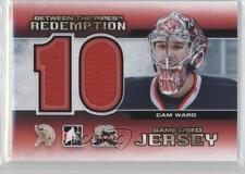 2012 In the Game Between Pipes #BTPR-07 Cam Ward Carolina Hurricanes Hockey Card