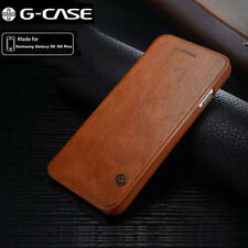Genuine Leather Shockproof Flip Wallet Card Case Cover For Samsung Galaxy Note 8