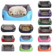 Large Pet Dog Cat Bed Puppy Cushion House Soft Warm Kennel Mat Blanket-Washable
