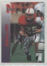 1996 Summit Nebraska Cornhuskers #25 Jon Verdal Rookie Football Card