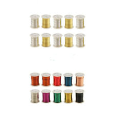 10 Rolls Copper Beading Cord Bracelet String Thread Roll Jewelry Making DIY