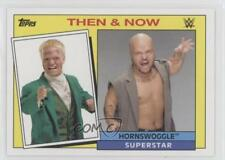 2015 Topps Heritage WWE Then and Now #13 Hornswoggle Wrestling Card