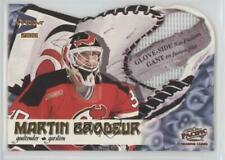 2000-01 Pacific Prism McDonald's Glove-Side Net-Fusions #4 Martin Brodeur Card