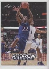 2014 Leaf National Convention #AW-04 Andrew Wiggins Kansas Jayhawks Rookie Card