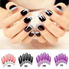 Sweet DIY Transfer Design Nail Art Stickers Manicure Nail Tips Polish Decals New