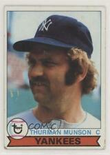 1979 Topps Burger King Restaurant New York Yankees #2 Thurman Munson Card
