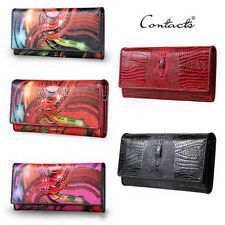 New High-Quality Wallet Lady Long Alligator Crocodile-Style High Capacity Colors