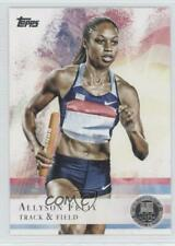2012 Topps US Olympic Team and Hopefuls Silver #66 Allyson Felix USA Rookie Card