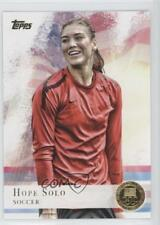 2012 Topps US Olympic Team and Hopefuls Gold #50 Hope Solo USA Card