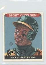 2012 Sportkings Series E Mini #213 Rickey Henderson Oakland Athletics Card