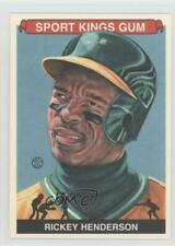 2012 Sportkings Series E Premium Back #213 Rickey Henderson Oakland Athletics