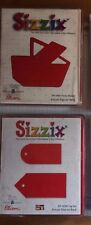 SIZZIX LARGE RED DIE-CUTS - YOU SELECT * DISCONTINUED * RETIRED DIES.