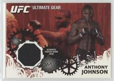2010 Topps UFC Series 4 Ultimate Gear Relic #UG-AJ Anthony Johnson MMA Card