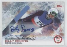 2014 Topps US Olympic & Paralympic Team and Hopefuls #23 Billy Demong Auto Card