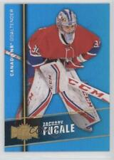 2015-16 Upper Deck Fleer Showcase #MU-18 Zachary Fucale Montreal Canadiens Card