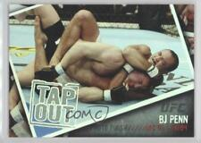 2009 Topps UFC Photo Finish #PF-4 BJ Penn (BJ Penn) B.J. MMA Card