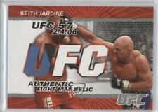 2009 Topps UFC Authentic Fight Mat Relic #FM-KJ Keith Jardine MMA Card