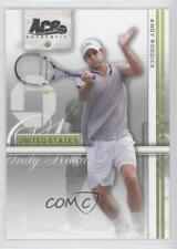 2007 Ace Authentic Straight Sets #5 Andy Roddick Tennis Card